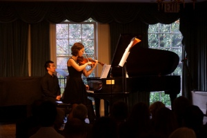 Hilary Hahn and Cory Smythe