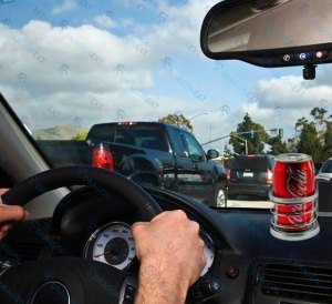 Coke in Car