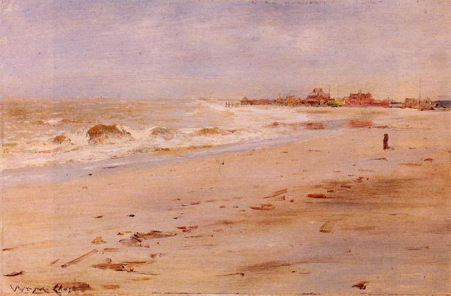 """Coastal View"" by William Merritt Chase"