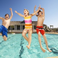 Youthful Passions: Jumping Into a Pool