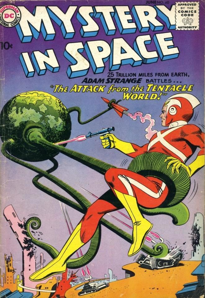 Adam Strange - Mysteries in Space