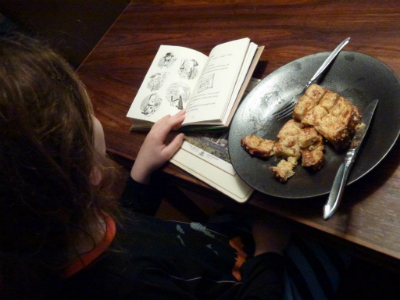 Eating and Reading