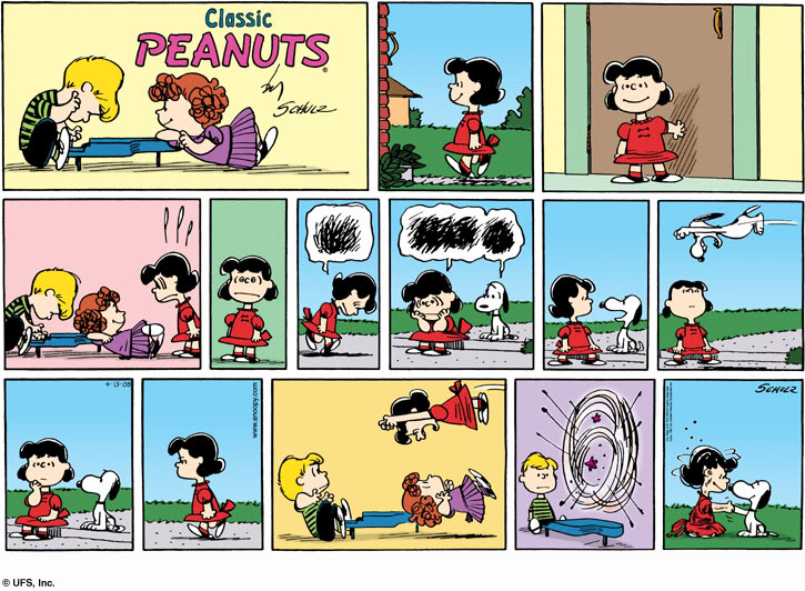 Submissive big comic name original peanut strip