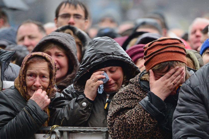 Ukrainian Mourners