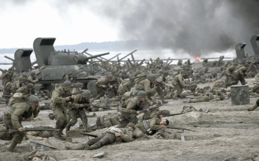 "Image from ""Saving Private Ryan"""
