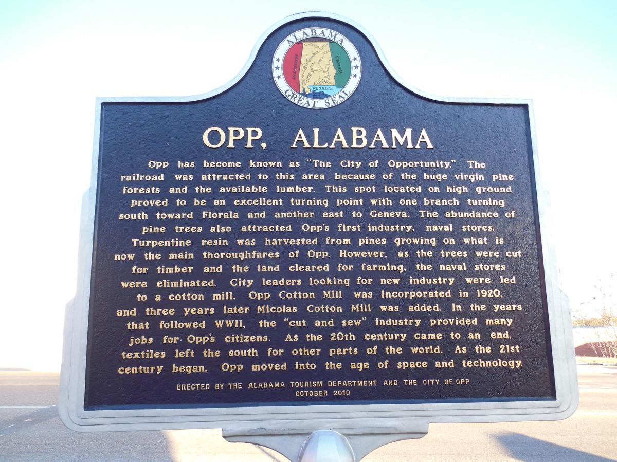 Opp, Alabama