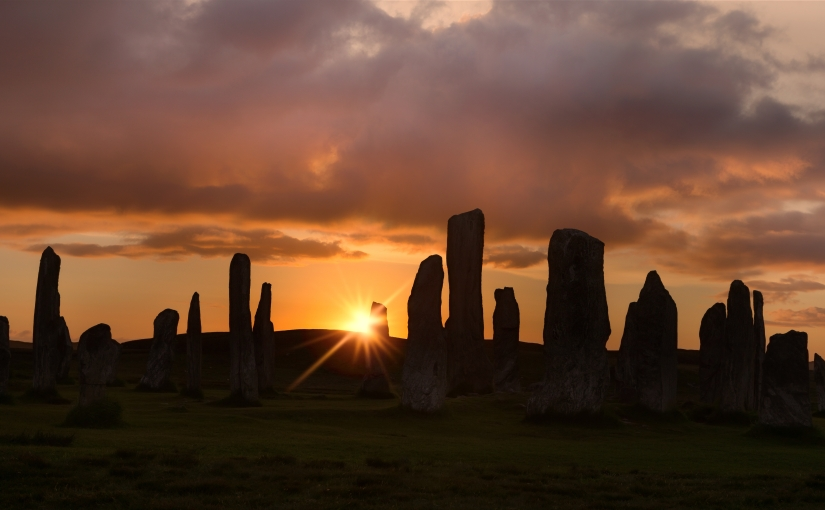 The Sun Sets on the StandingStones