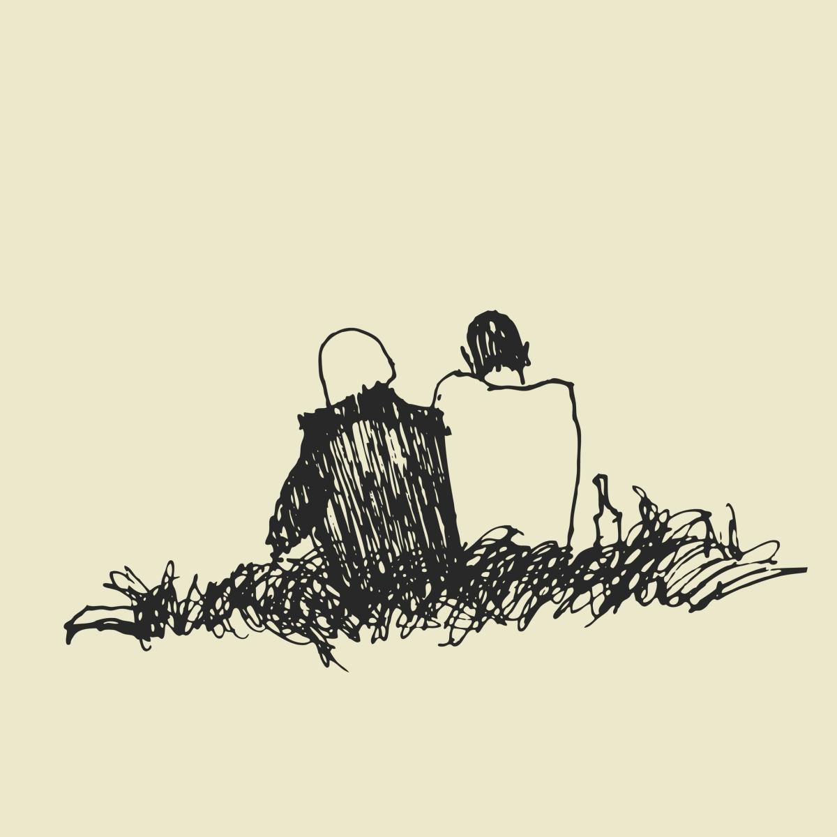 couple, sitting