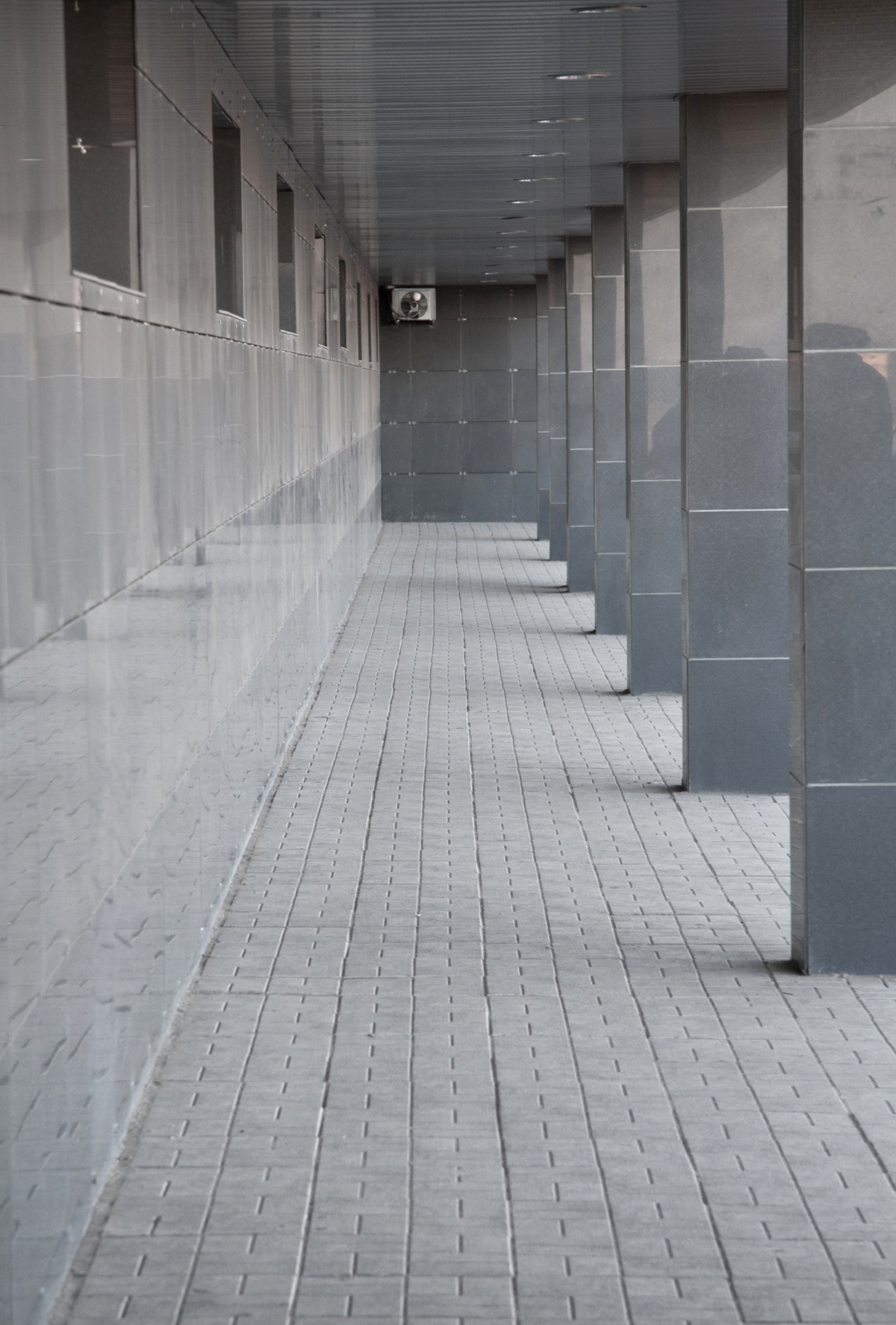 Hallways : Gray Egress