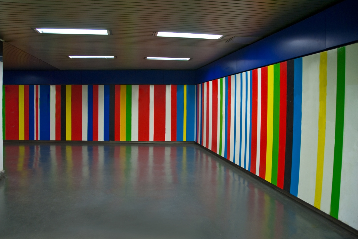 Hallways : Modern Art Subway