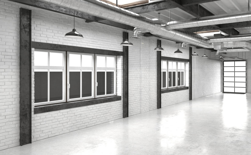 Hallways : Modern OfficeAtrium