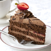 Shallow Thoughts on Chocolate Cake