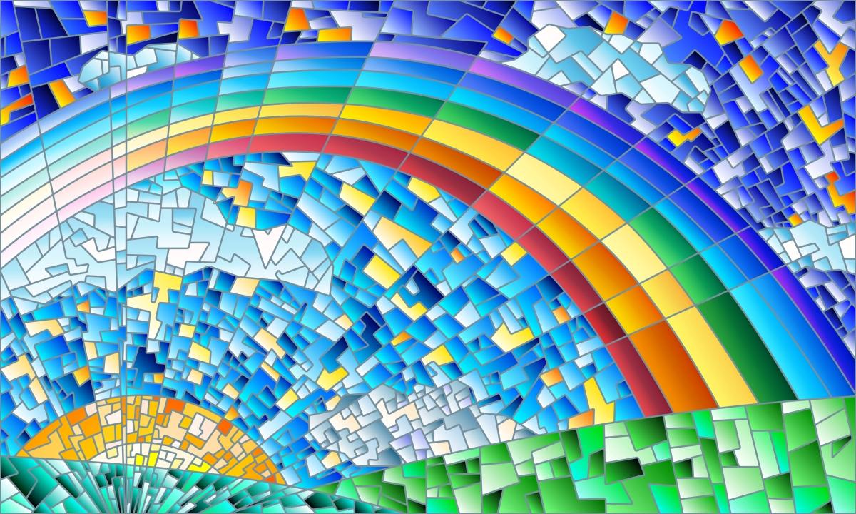 make the mosaic