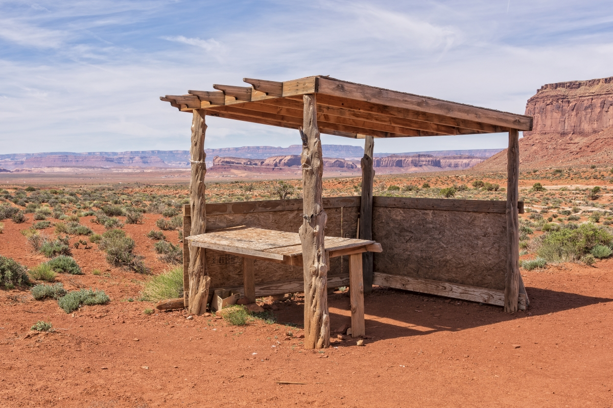 Snapshot: On Finding An Abandoned Stall in the Desert (Revised)