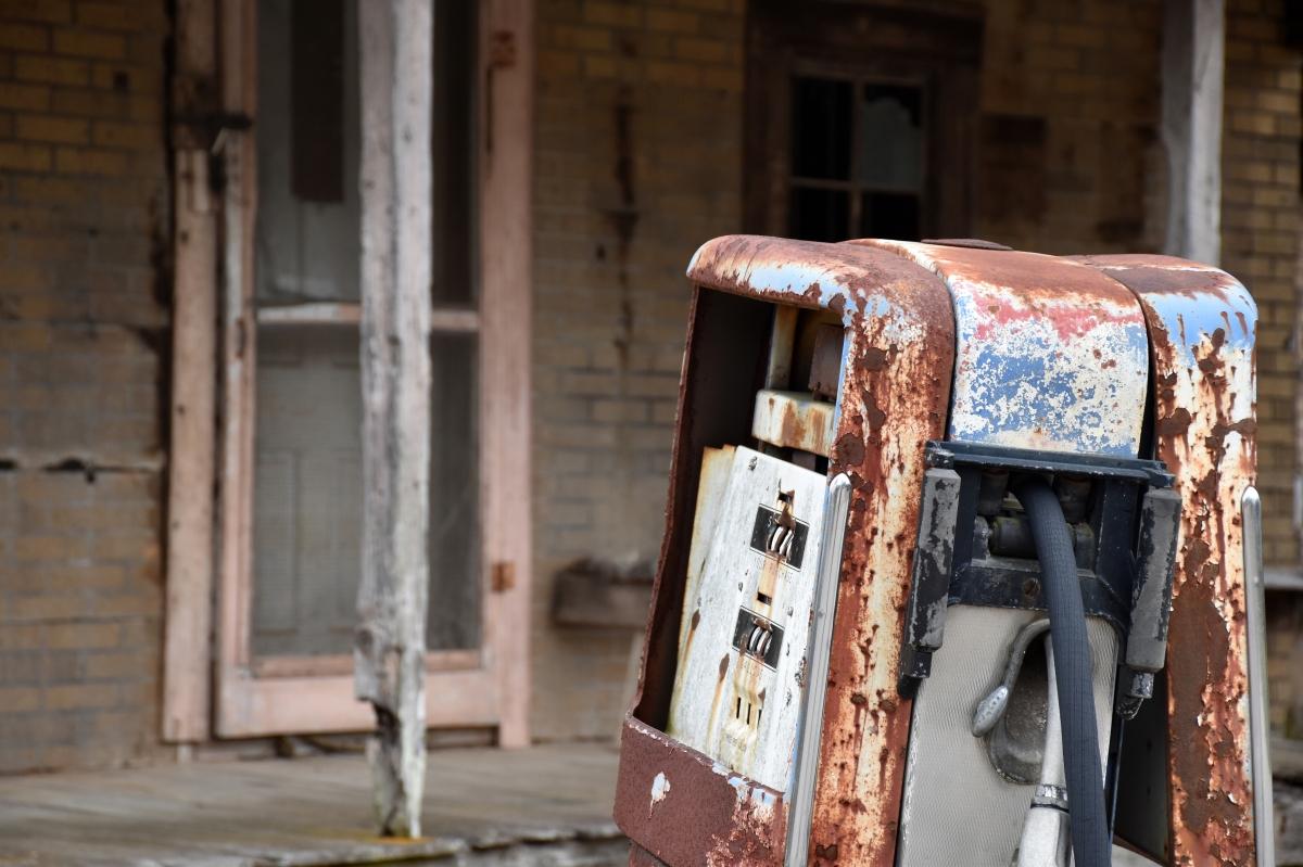 Snapshot: Rusty GasPump