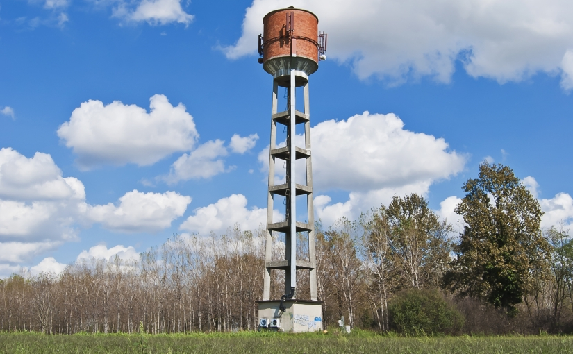 country water tower