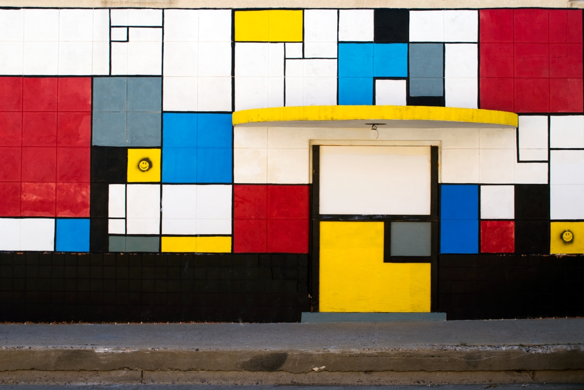 Mondrian With The Wind