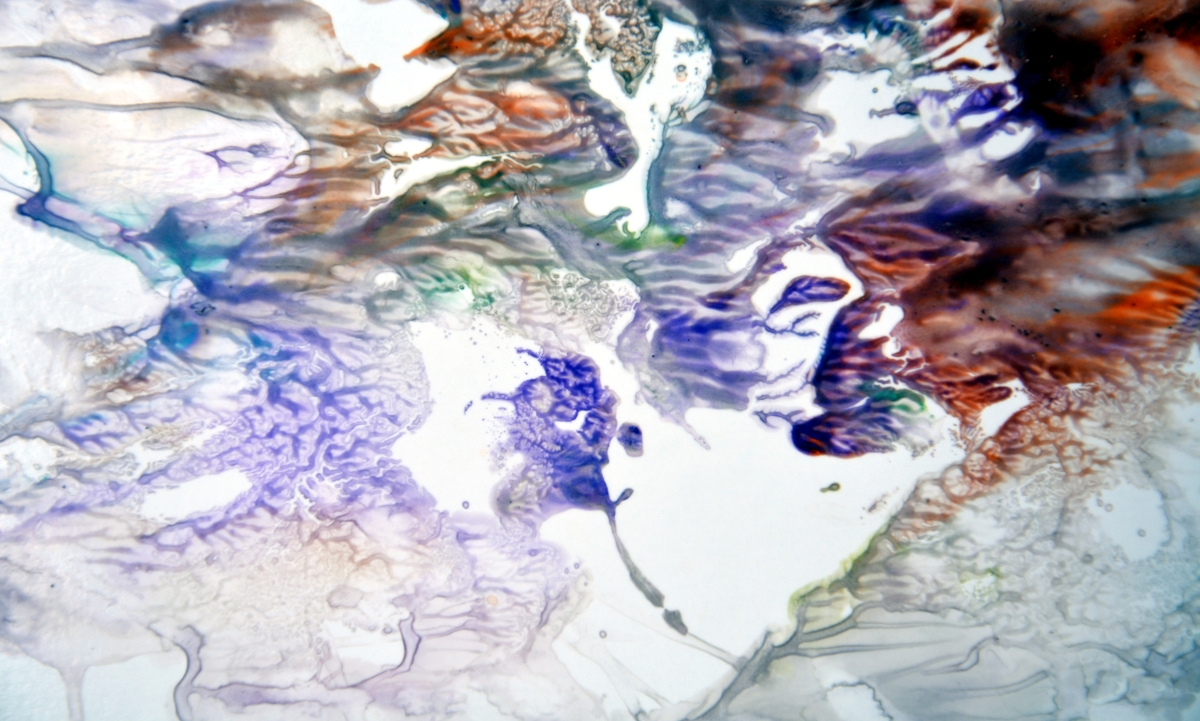 the painted water