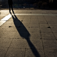 i am a shadow on the earth